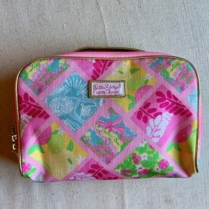 Lilly Pulitzer for Estee Lauder Pink Makeup Bag